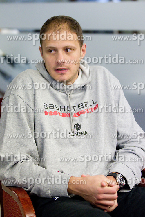 Raso Nesterovic of Slovenian National basketball team 1 day before Eurobasket Lithuania 2011, on August 29, 2011, in Hotel Amberton, Klaipeda, Lithuania. (Photo by Vid Ponikvar / Sportida)