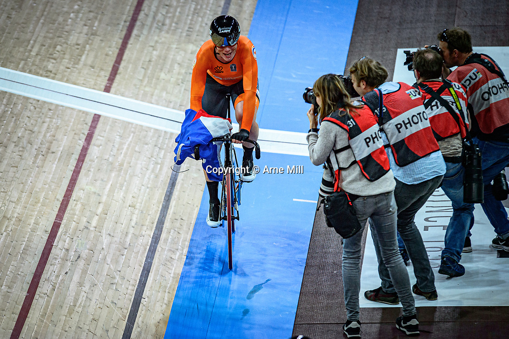 WILD Kirsten ( NED ) – Netherlands – Querformat - quer - horizontal - Landscape - Event/Veranstaltung: UCI Track Cycling World Championships 2020 – Track Cycling - World Championships - Berlin - Category/Kategorie: Cycling - Track Cycling – World Championships - Elite Women - Location/Ort: Europe – Germany - Berlin - Velodrom Berlin - Discipline: Madison - Distance: 30 km - Date/Datum: 29.02.2020 – Sunday – Day 4 - Photographer: © Arne Mill - frontalvision.com