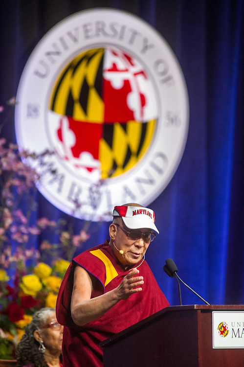 Dalai Lama Lectures at University of Maryland