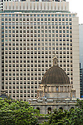 Legislative Council Building dome Central District Hong Kong.