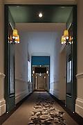 London Hotel interior.