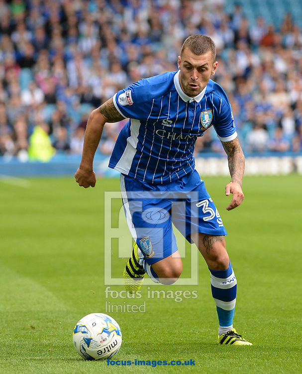 Jack Hunt of Sheffield Wednesday in action during the Sky Bet Championship match at Hillsborough, Sheffield<br /> Picture by Richard Land/Focus Images Ltd +44 7713 507003<br /> 24/09/2016