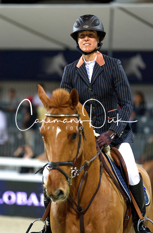 Diniz Luciana (POR) - Bluebuster <br /> Final Global Champions Tour - Abu Dhabi 2012<br /> &copy; Hippo Foto - Cindy Voss