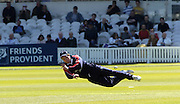 2005 Totesport League, Middlesex Crusader vs Hampshire Hawks at Lords, ENGLAND, 15.05.2005, Crusader's James Dalrymple, throws in, from Simon Katich's batting..Photo  Peter Spurrier. .email images@intersport-images...