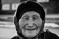 Rynee Kutchaka, 82, one of the elder of Inukjuak.