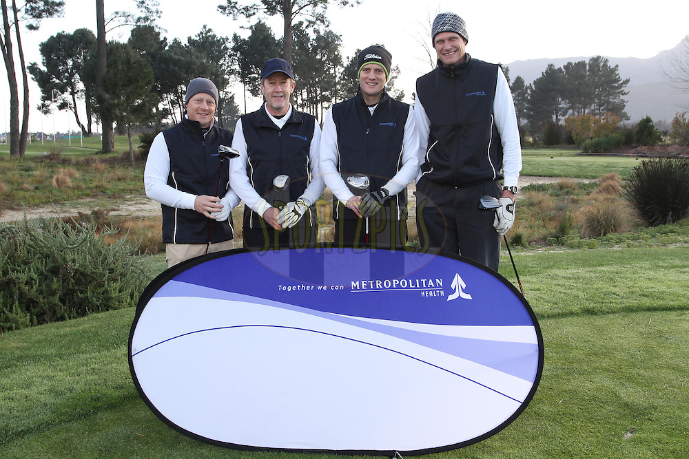 during the BHF Golf Day held at Pearl Valley Golf Estate in Paarl, South Africa on 18 August 2013<br /> <br /> Photo by Shaun Roy / Sportzpics