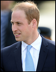 The Duke of Cambridge Prince William, The Commodore-in-Chief Submarines, visits The Royal Navy Submarine Museum in Gosport, Hampshire, United Kingdom. Monday, 12th May 2014. Picture by Andrew Parsons / i-Images