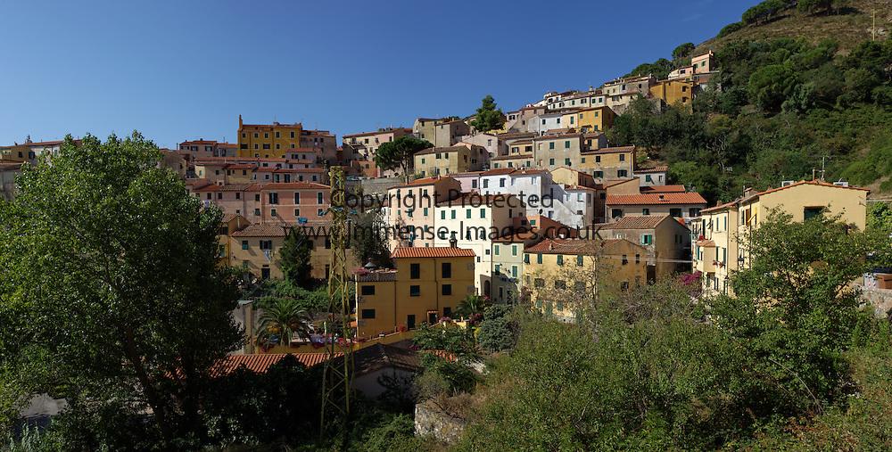 mediterranean hill town