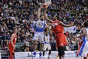 DESCRIZIONE : Beko Legabasket Serie A 2015- 2016 Dinamo Banco di Sardegna Sassari - Openjobmetis Varese<br /> GIOCATORE : Rok Stipcevic<br /> CATEGORIA : Passaggio Penetrazione<br /> SQUADRA : Dinamo Banco di Sardegna Sassari<br /> EVENTO : Beko Legabasket Serie A 2015-2016<br /> GARA : Dinamo Banco di Sardegna Sassari - Openjobmetis Varese<br /> DATA : 07/02/2016<br /> SPORT : Pallacanestro <br /> AUTORE : Agenzia Ciamillo-Castoria/L.Canu