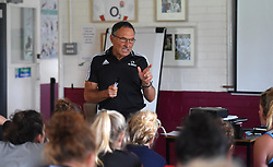 Dr Dave Alred inspires Bristol Ladies at their weekend training camp - Mandatory by-line: Paul Knight/JMP - 29/07/2017 - RUGBY - Bristol Ladies Rugby pre-season training
