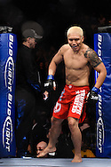 "ATLANTA, GEORGIA, SEPTEMBER 6, 2008: Ryo Chonan enters the octagon during ""UFC 88: Breakthrough"" inside Philips Arena in Atlanta, Georgia on September 6, 2008"