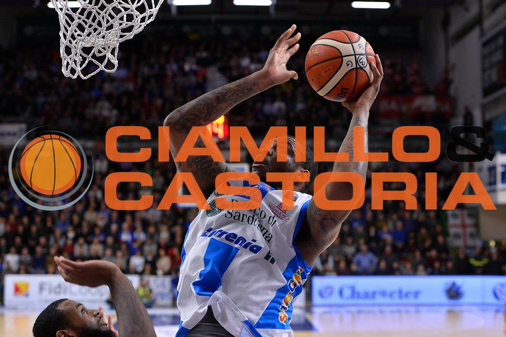 SASSARI 16 DICEMBRE 2017<br /> Banco di Sardegna Dinamo Sassari - The Flexx Pistoia<br /> LegaBasket LBA PosteMobile 2017/2018<br /> NELLA FOTO Shawn Jones<br /> FOTO CIAMILLO - Luigi Canu