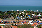 Fortaleza_CE, Brasil...Vista panoramica do Beach Park no litoral de Fortaleza...Panoramic view of Beach Park in Fortaleza coast...FOTO: BRUNO MAGALHAES /  NITRO