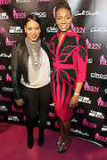 19 November-New York, NY: (L-R) Recording Artist Sandra Denton of Salt-N-Pepa and Recording Artist/On-Air Personality MC Lyte attend the 4th Annual WEEN (Women in Entertainment Empowerment Network) Awards held at Helen Mills Theater on November 19, 2014 in New York City.  (Terrence Jennings)