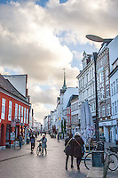 Downtown Flensburg, Germany