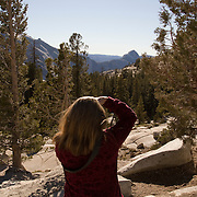 Extremely rare, warm weather in the Eastern Sierras has resulted in Tioga Pass (SR 120) remaining open into Yosemite National Park. It's been over 80 years since Tioga Pass was open this late into January.