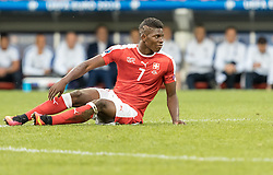 19.06.2016, Stade Pierre Mauroy, Lille, FRA, UEFA Euro, Frankreich, Schweiz vs Frankreich, Gruppe A, im Bild Breel Embolo (SUI) // Breel Embolo (SUI) during Group A match between Switzerland and France of the UEFA EURO 2016 France at the Stade Pierre Mauroy in Lille, France on 2016/06/19. EXPA Pictures © 2016, PhotoCredit: EXPA/ JFK