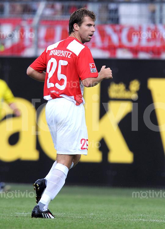 1. Fussball Bundesliga  Saison  2009/2010   3 Spieltag  22.08..2009 1 FSV Mainz 05 - FC Bayern Muenchen Andreas Ivanschitz (Mainz)