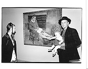 Nicola Bowery, Alex Binnie and Amber Binnie at a Lucian Freud showing. Tate Gallery. London. 2 June 1998. © Copyright Photograph by Dafydd Jones 66 Stockwell Park Rd. London SW9 0DA Tel 020 7733 0108 www.dafjones.com