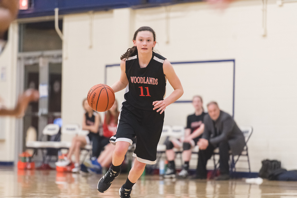 Woodlands Academy High School 2017-2018 Girls Basketball photography in Lake Forest, IL by Chicago Sports Photographer Chris W. Pestel