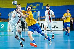 Sarac Josip of RK Celje Pivovarna Lasko during handball match between RK Celje Pivovarna Lasko (SLO) and Paris Saint-Germain HB (FRA) in 11th Round of EHF Champions League 2019/20, on 9 February, 2020 in Arena Zlatorog, Celje, Slovenia. Photo Grega Valancic / Sportida