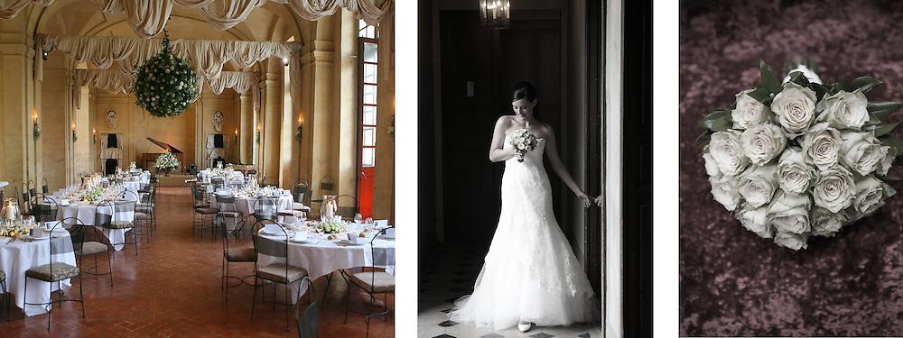Wedding in Chateau des Condé, Bourgogne, France.