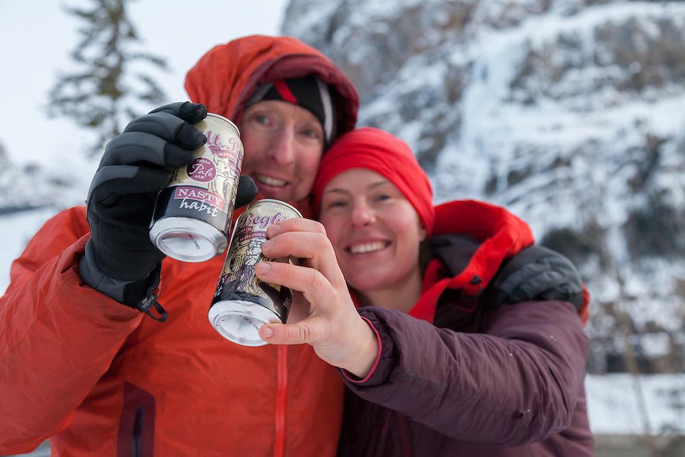 Mixed Climbing - Nasty Habits - Field - BC