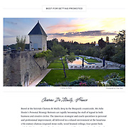 real estate photography for Chateau de Mailly, France