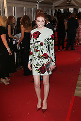 Eleanor Tomlinson, Glamour Women of the Year Awards, Berkeley Square Gardens, London UK, 02 June 2014, Photos by Richard Goldschmidt /LNP © London News Pictures
