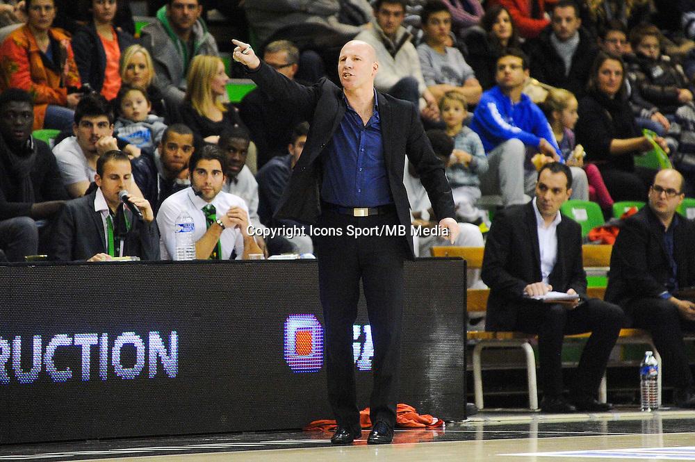 Eric BARTECHEKY  - 29.12.2014 - Lyon Villeurbanne / Le Havre - 16e journee Pro A<br />Photo : Jean Paul Thomas / Icon Sport