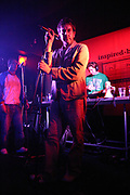 Terry Hall (The Specials) performing with the Dub Pistols, UK 2005