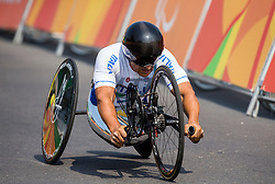 Alessandro Zanardi of Italy during Men's Time Trial H5 of Cycling Road competition during Day 7 of the Rio 2016 Summer Paralympics Games on September 14, 2016 in Olympic Aquatics Stadium, Rio de Janeiro, Brazil. Photo by Vid Ponikvar / Sportida