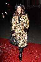 LONDON - DECEMBER 13: Noomi Rapace attended the English National Ballet Christmas Party at St Martins Lane Hotel, London, UK. December 13, 2012. (Photo by Richard Goldschmidt)