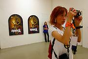 "Adrian Piper, ""Color Wheel Series"" (2000-2).Fridericianum exhibition site"