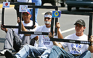 Acto en apoyo al canal RCTV. Caracas, 10-03-2007. (Ivan Gonzalez)