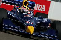 Alex Barron at St. Petersburg, Honda Grand Prix of St. Petersburg, April 3, 2005