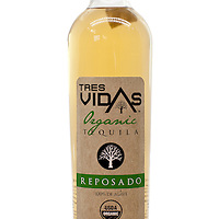Tres Vidas Organic Tequila Reposado -- Image originally appeared in the Tequila Matchmaker: http://tequilamatchmaker.com