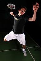 Carl Baxter England Badminton, World Championships Photoshoot, NBC, Milton Keynes, England, 2011