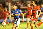 Ian Henderson shoots during the EFL Sky Bet League 1 match between Walsall and Rochdale at the Banks's Stadium, Walsall, England on 6 March 2018. Picture by Daniel Youngs.