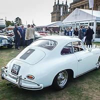 Porsche 356 Carrera  at Salon Privé celebrating Porsche 70 years on 1 September 2018