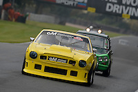 #161 P Hipwell / C Hipwell Aston Martin Amv8 5340 during the CSCC Meteor Suspension Open Series at Oulton Park, Little Budworth, Cheshire, United Kingdom. October 15 2016. World Copyright Peter Taylor/PSP. <br /> Copy of publication required for printed pictures.  Every used picture is fee-liable. http://archive.petertaylor-photographic.co.uk