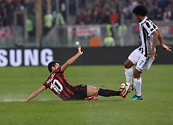 May 9, 2018 - Rome, Italy - Hakan Calhanoglu during the Tim Cup Final football match F.C. Juventus vs A.C. Milan at the Olympic Stadium in Rome, on May 09, 2018  (Credit Image: © Silvia Lore/NurPhoto via ZUMA Press)