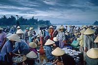 Fishmarket in Hoi An, Vietnam