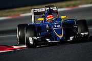 February 19-22, 2015: Formula 1 Pre-season testing Barcelona : Felipe Nasr (BRA), Sauber