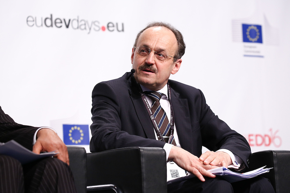 20160615 - Brussels , Belgium - 2016 June 15th - European Development Days - Working together in fragile states for better effectiveness -Klaus Rudischhauser , Deputy Director General , European Commission - DG for International Cooperation and Development © European Union