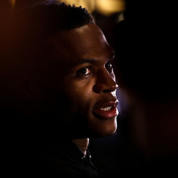 Feb 17, 2017; New Orleans, LA, USA; Western Conference All Star Russell Westbrook during the All Star media availability at the Ritz Carlton. Mandatory Credit: Derick E. Hingle-USA TODAY Sports