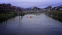 05-07-2014 NED: Iceland Diabetes Challenge dag 1, Landmannalaugar <br /> Vandaag ging de challenge van start. Met een bus gingen we van Vogar naar Landmannalaugar en zagen we de eerste tekenen van het prachtige landschap van IJsland / Eelco