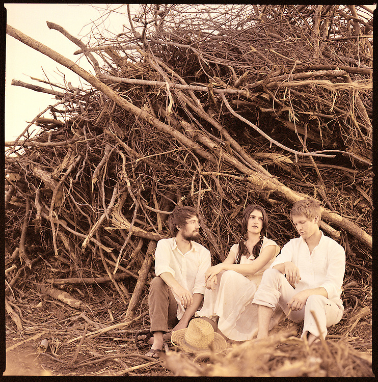 Bowerbirds, from left, Phil Moore, Beth Tacular and Mark Paulson..Photo by DL Anderson