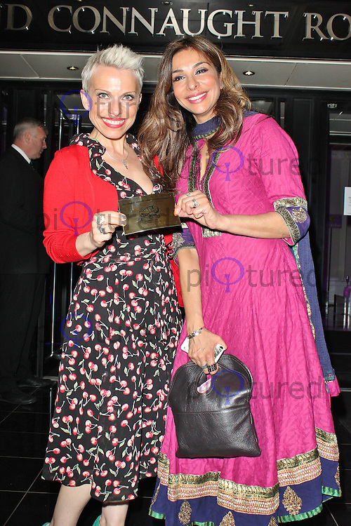 LONDON - June 25: Sue Devaney & Shobna Gulati at the Charlie and the Chocolate Factory - Opening Night After Party (Photo by Brett D. Cove)