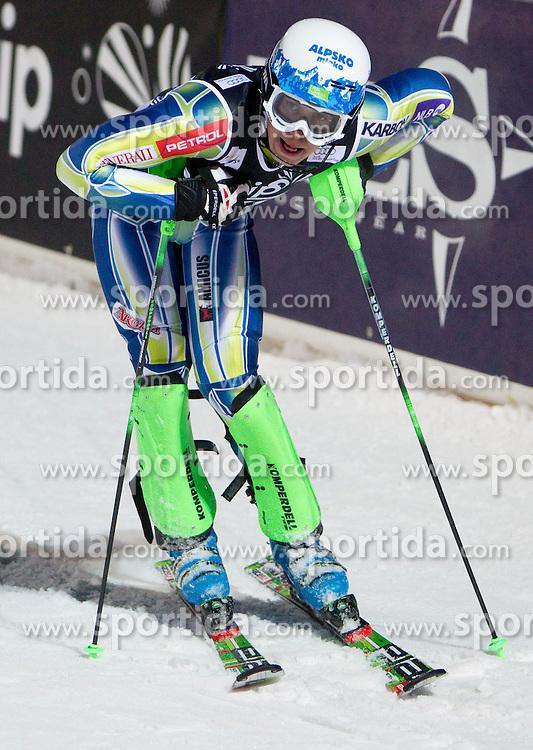 6.1.2011 Sljeme, Zagreb, CRO, Audi FIS World Cup Ski Alpin, Men, Slalom, at Picture SKUBE Matic (SLO) in finish area during 2nd run; SPORTIDA PHOTO AGENCY © 2011, PhotoCredit: SPORTIDA / Vid Ponikvar